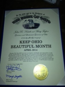 Keep Ohio Beautiful Month 2014